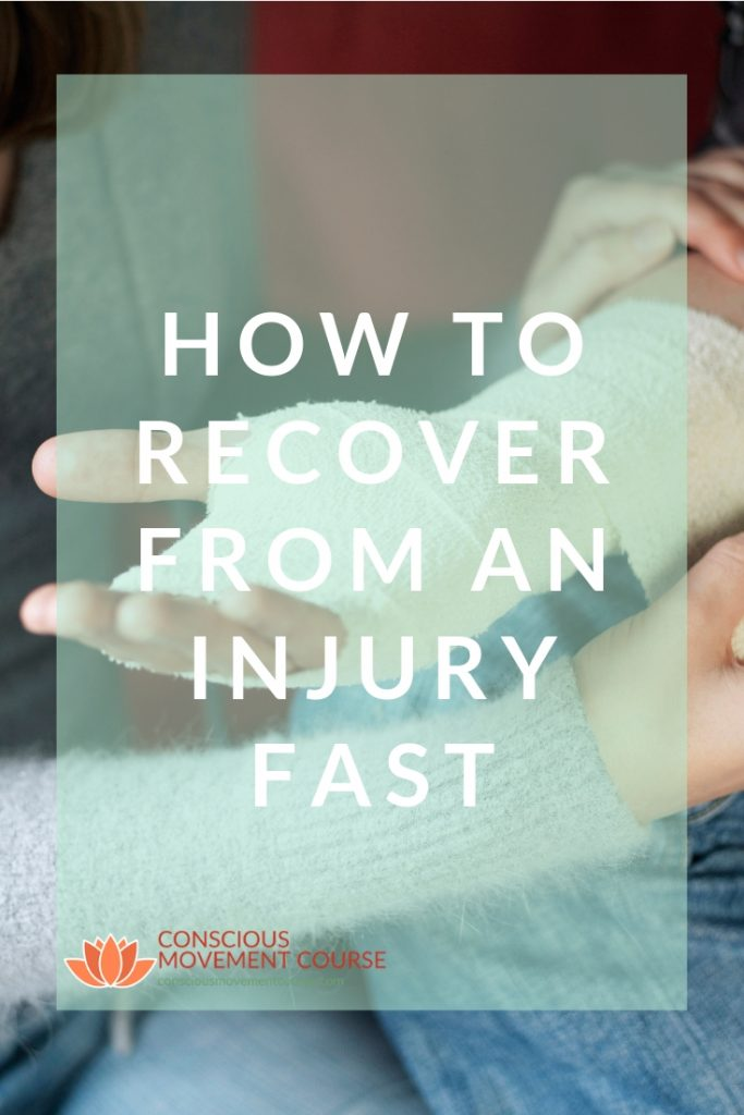 HOW TO RECOVER FROM AN INJURY FAST Long