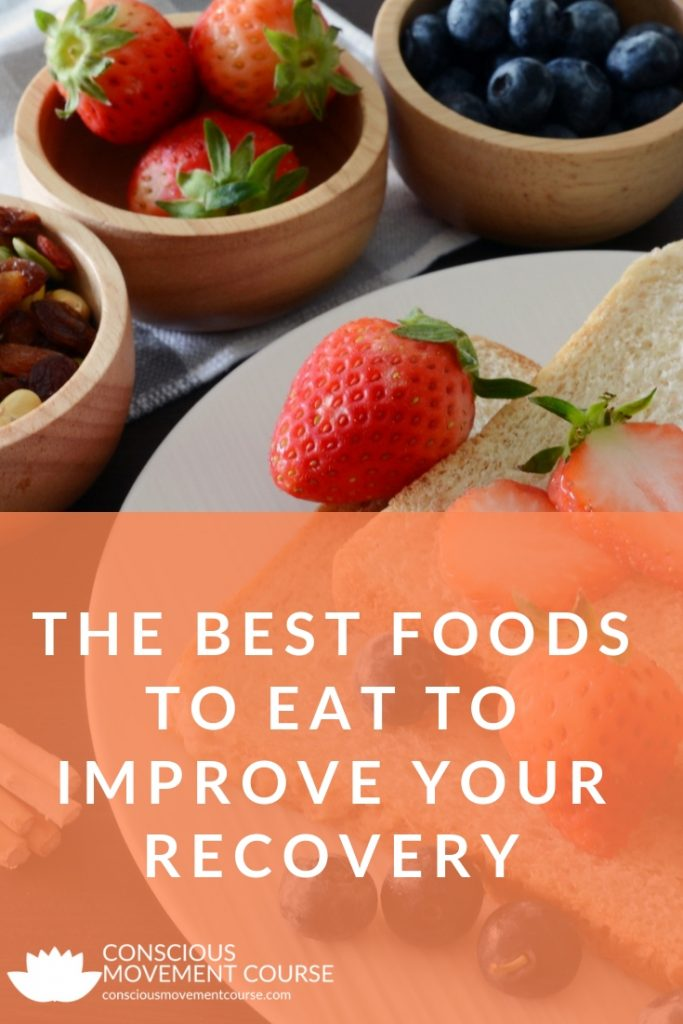 THE BEST FOODS TO EAT TO IMPROVE YOUR RECOVERY Long