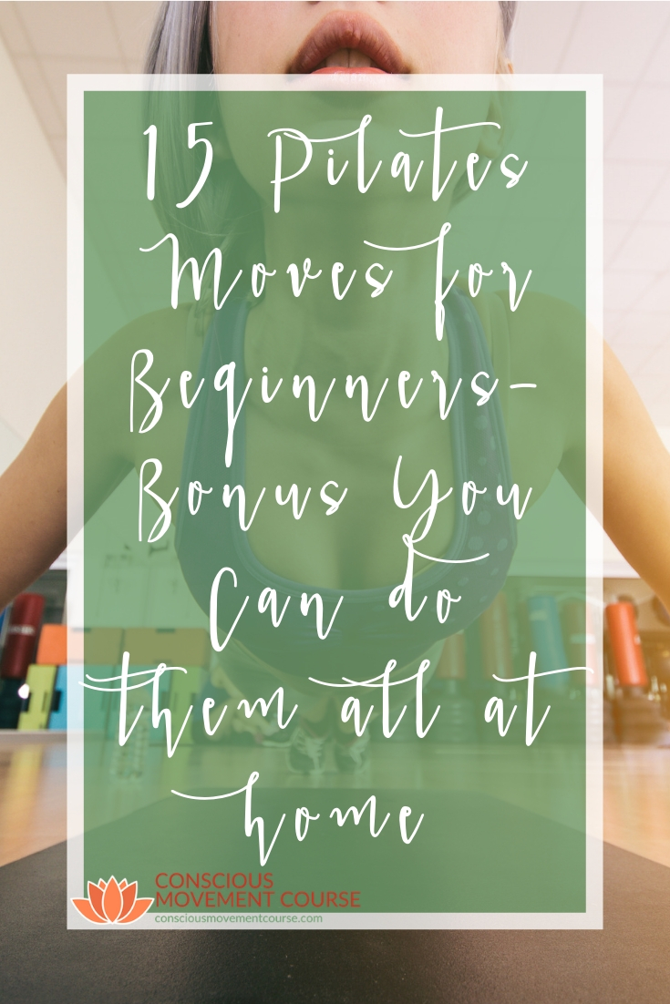 15 Pilates Moves for Beginners Bonus You Can do them all at home Long