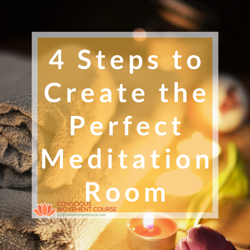 4 Steps to Create the Perfect Meditation Room